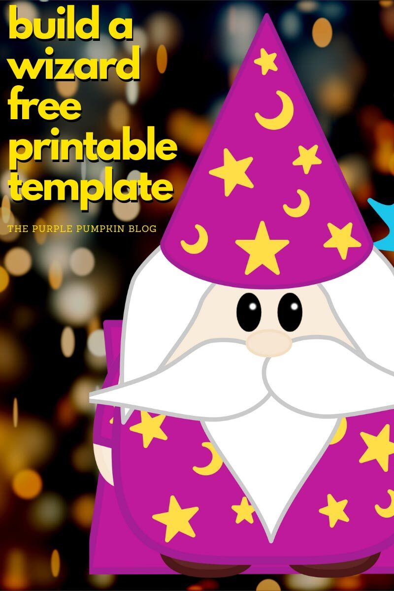 Build a Wizard Free Printable Template