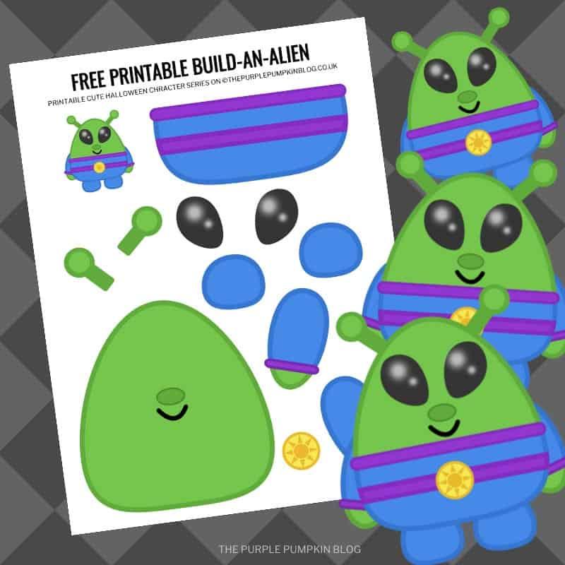 Free Build An Alien Printable